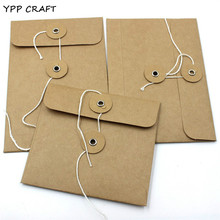 YPP CRAFT Homemade Kraft Paper Bags/Storage Bags for Scrapbooking Happy Planner/Card Making/Journaling Project DIY Craft(China)