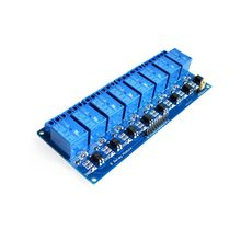 With optocoupler 8 channel 8-channel relay control panel PLC relay 5V module for hot sale in stock(China)