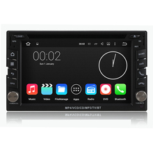 Free Shipping Quad Core 2 Din In Dash Android 5.1.1 PC Universal Dual Din Car DVD Player Stereo GPS Navigation Radio DVR 3G WiFi