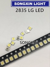 1000pcs 2835 LG LED Backlight 1210 3528 2835 1W 100LM Cool white LCD Backlight for TV TV Application 1W-350Ma CCT:7000-10000K
