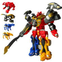 King of kirin gift deformation of the 6-7-8 year-old male love toys toys for children God beast combiners deformation robot