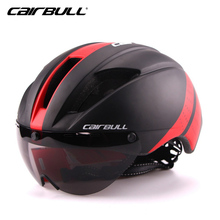 CAIRBULL Cycling Helmet Lens Windproof Men Integrally-molded 11 Vents Mountain Road MTB Bicycle Bike Casco Ciclismo - ZO cycling Store store
