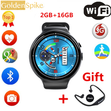 I4 AIR Android 5.1 OS Heart Rate Monitor Smart Watch 2G+16G Support Camera 2.0MP WIFI GPS 3G Smart Wristwatch for Android/IOS