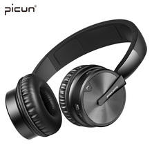 Buy Picun BT16 Wireless Bluetooth Headphone Stereo HiFi Music Headset Super Bass Game Earphone Microphone iPod PC Player TF for $41.99 in AliExpress store