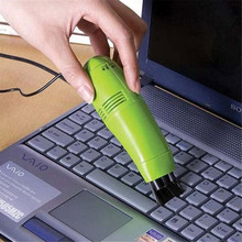 1PCS Mini USB Vacuum Cleaner for Computers Laptop Key board Cleaner Vacuum Brush Portable Dust Cleaning Brush Hot Sale