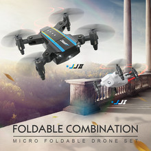 JJRC H345 Dual-Aircraft RC Drone Quadcopter Professionelle Combination Micro Foldable Drone Quadcopter Set AR Game(China)