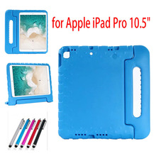 New for iPad Pro 10.5 Inch Kids Case Kiddie Shock Proof Light Weight Super Protection Handle Stand Cover for Apple iPad Pro 10.5