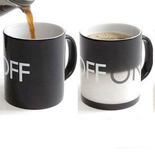 On/Off switch cup,color changing cup,magic mug,Free Shipping