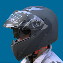 New  Arrivals Genuine JIEKAI Safe Flip Up Motorcycle Helmet With Inner Sun Visor double lens helmet Motos Casco Capacete