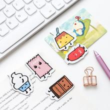 3 pcs/pack Delicious Snacks Jelly Hot Dog Magnet Bookmark Paper Clip School Office Supply Escolar Papelaria Gift Stationery(China)