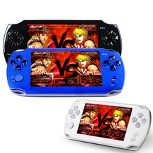 S9000A Portable 5.0 inch HD Handheld Game Player MP5 MP4 Multimedia Gaming Console 5 Inch For PSP 8G Video Games Consoles Toy(China)