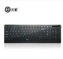 HUO JI USB Wired Computer Keyboard for Mac and Windows PC with 15 Apple Shortcut Keys and Numeric Keypad