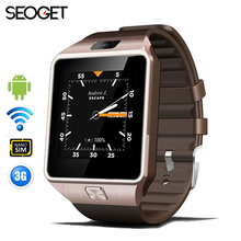 SEOGET 512MB/4GB 3G WIFI Android Smart Watch Support Sim Card Bluetooth 4.0 smart watch Phone pedometer Smartwatch Men Watch(China)