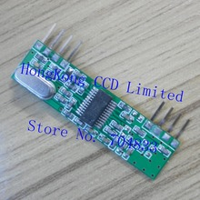 RXB1 433Mhz ASK superheterodyne radio receiver module RX3400 OOK PLL frequency stabilization voltage Wide RXB1-433 433Mhz