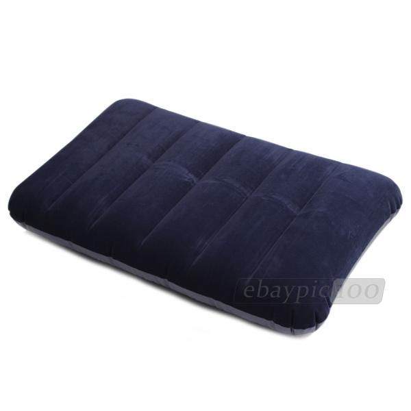 car travel inflatable pillow cushion back rest outdoor