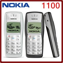 1100 Cheapest Original Unlocked Nokia 1100 Multi-color Refurbished Mobile Phone Free Shipping