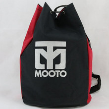 MOOTO Canvas Taekwondo bag Protectors gear bags karate MMA kick boxing muay thai backpack martial arts sport bag TKD uniform bag(China)