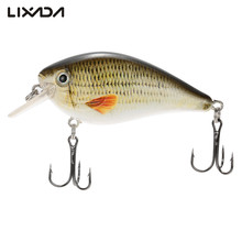 Lixada 7.5cm 13g Wobblers Fishing Lure Sea Swimbait Crankbait Fish Lure Isca Artificial Bait With Hook Fishing Tackle Tool Pesca