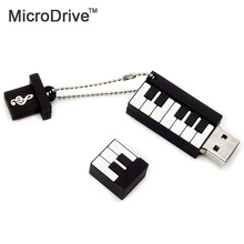 Piano Musical instrument piano usb pen 64GB 32GB 16GB 8GB 4GB Music gift USB Flash Drive Memory Stick gift Creative usb disk(China)