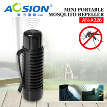 Free Shipping Aosion Good Quality Mini Pest Repellent Battery Powered Portable Mosquito repeller machine AN-A326(China)