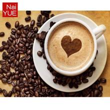 NAIYUE 5D DIY diamond embroidery Coffee Heart picture Diamond painting cross stitch home Decoration FULL drill diamond mosaic