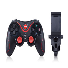 2017 GAME S5 Wireless Bluetooth Game Console Handle Controller Gamepad For IOS Android OS Phone Tablet PC Smart TV With Holder