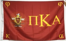 Pi Kappa Alpha PIKE Official Chapter Outdoor Indoor American Flag 3X5FT Drop Shipping Custom Club Sport Flag