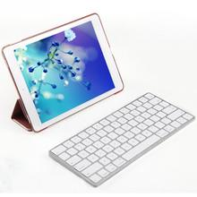 Tablets PC Keyboards Ultra Thin USB Bluetooth Wireless Keyboard for Macbook Mac i Pad i Phone Smartphone Windows