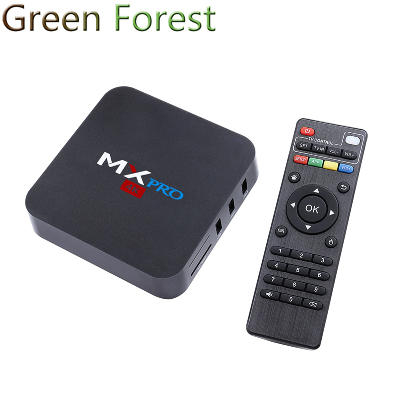 MX PRO S905 Quad-Core Android 5.1 TV Box RAM 1G Flash 8G kdplayer 16.0 Wifi 2.5GHz Built in Wifi Media Player Smart TV Box(China (Mainland))