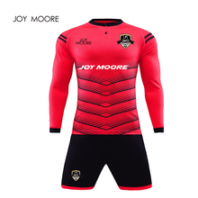 High Quality Cheap Soccer Uniform Sublimation Printing New Model football jersey goalkeeper uniform(China)