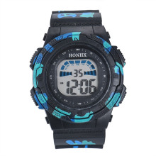 HONHX Child watch Multifunction Digital Watch Kid Child/Boy's Sports electronic LED Watch Children's watches Waterproof clock