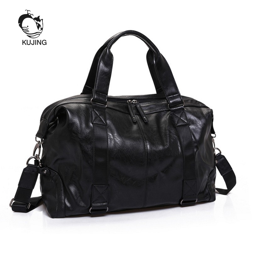 KUJING Male Bag High-end Men Business Handbag Hot Luxury Men Shoulder Messenger Bag Cheap Large-capacity Travel Leisure Men Bag<br>