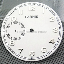 Parnis 38.9mm White dial fit eta 6497 Sea-gull st36 movement watch watch faces