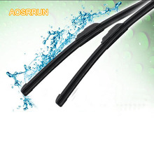 AOSRRUN The three-stage boneless wiper strip for Honda Civic 9th 2012 2013 2014 2015 car styling Car Accessories Auto parts(China)