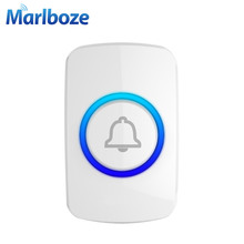 Marlboze Wireless Emergency Button SOS Button Panic for Home Security GSM Alarm System Doorbell Button for Welcome Doorbell(China)