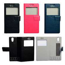 New Flip PU Leather Case Cover For DEXP Ixion MS250 Sky Smartphone