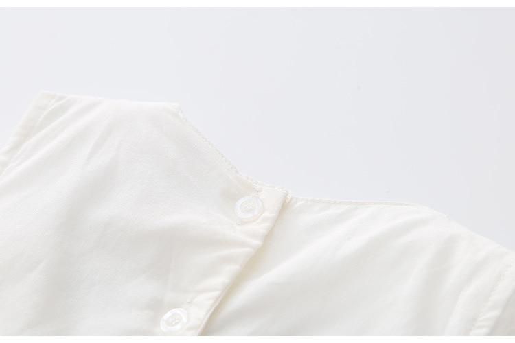 2018 Hot Summer 2-10 Years Brief Kids Lace Embroidery Flower Floral Sleeveless Flounce Vest Tank Sundress Girls Dress Cotton (25)