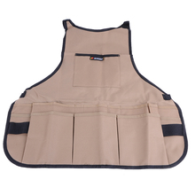Urijk 600D Oxford cloth multifunctional apron Garden Tools packet apron Hardware tools Storage bag
