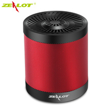 ZEALOT S5 Portable Speaker Outdoor Wireless Bluetooth 4.0 Speakers Active 3D Music Box Support Micro SD Card AUX U Flash Disk(China)