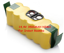 Wholesale Rechargeable Battery Pack 14.4V 3500mAh NI-MH Battery For iRobot Roomba Serious 500 510 530 531 532 533 535 536 540