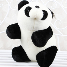18cm new soft paddle panda doll  giant panda  plush model toys kids gift free shipping