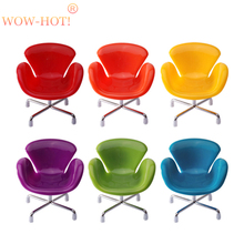 New Design Doll Chair Accessories 6 Colors Toy Chair,BJD Doll Chair Bjd Accessory Best Gift for Action Figure and Kids Dolls(China)