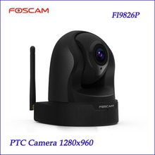 New Foscam FI9826P 3x Optical Zoom H.264 1.3 Megapixel HD Pan / Tilt / Zoom Surveillance Camera CCTV System  PTZ  Camera