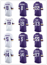 Minnesota harrison smith vikings Sam Bradford cook randy moss Stefon Diggs Teddy Bridgewater Anthony Barr Adam Thielen jersey(China)