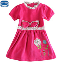 Baby clothes winter dresses  girls dress nova kids wear embroidery fashion girls frocks children clothes girl party dresses