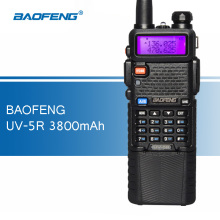 Baofeng UV-5R 3800mAh 5W Walkie Talkies UV5R Portable Two Way Radio uv 5r Ham CB Radio Dual Band UHF 400-520MHz VHF 136-174MHz(China)