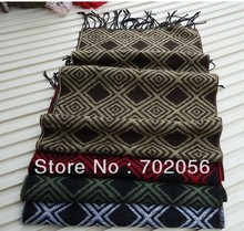 just arrival mens plaid scarf checker SCARF scarves stole 180*32cm mixed color 18pcs/lot #3059(China)