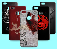 Ice and Fire Cover Relief Shell For Huawei Ascend P9 Plus Cool Game of Thrones Phone Cases For Huawei P9 Lite P9mini