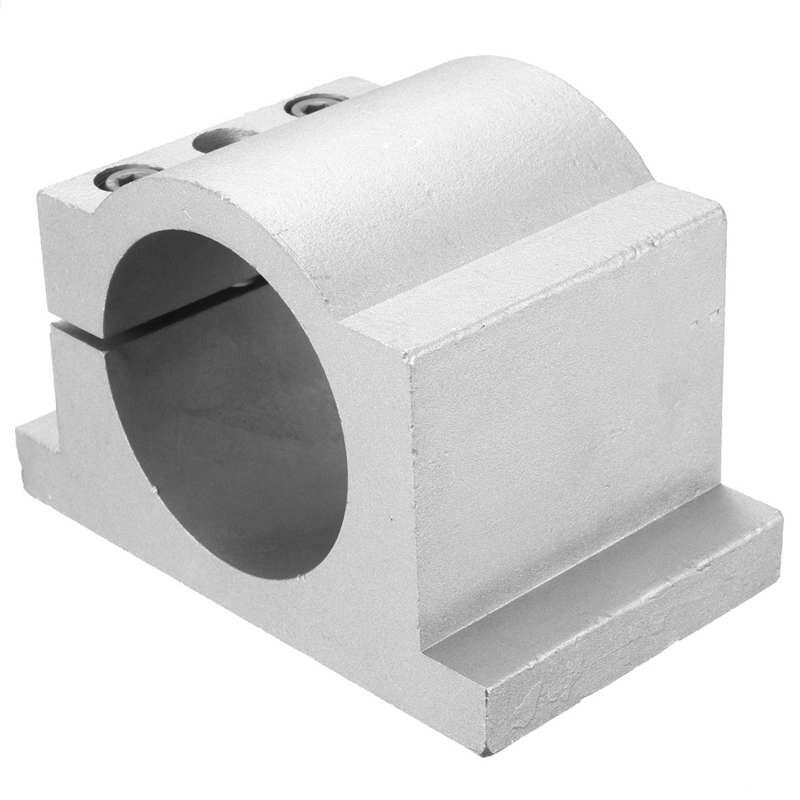 1PCS 65mm Diameter Spindle Motor Mount Bracket Clamp For CNC Engraving Machine with 2pcs screws<br>