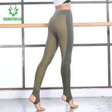 Buy Sexy Women Yoga Pants High Waist Fitness Sport Leggings Hips Push Gym Running Tights Sportswear Quick Dry Workout Foot Pants for $15.28 in AliExpress store